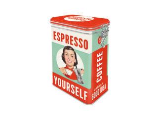 Nostalgic-Art Plåtburk Espresso