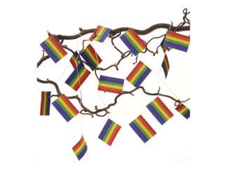 Juldekorationer Flaggirland Pride