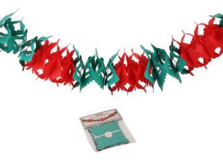 Juldekorationer Girland Röd-Grön