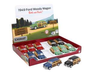 Modellbil 1:40 Ford Woody Wagon-49