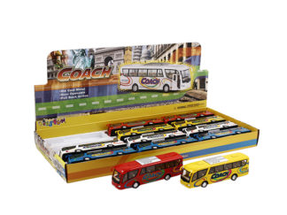 Modellbil Buss Coach