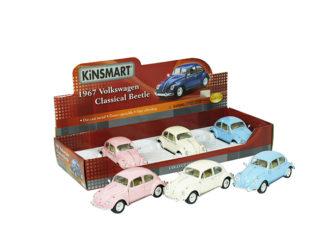 Modellbil 1:24 VW Pastell-67