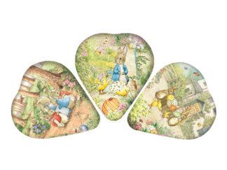 Påskägg 12 cm Beatrix Potter Heart