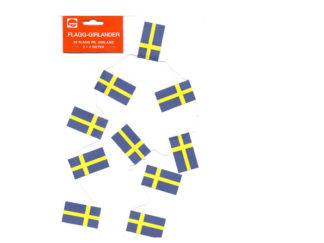 Juldekoration Flaggirland Sverige
