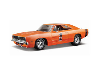 Modellbil H.D Dodge Charger RT-69