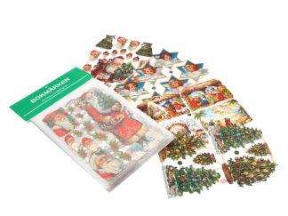 Juldekorationer Bokmärken Mormor Glitter Jul