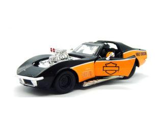 Modellbil H.D Chevy Corvette-70