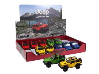 Modellbil 1:34 Jeep Wrangler